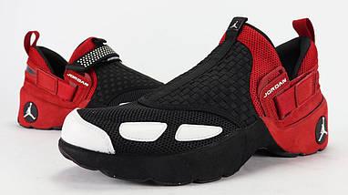 Кроссовки мужские JORDAN Trunner LX OG Black/Red Черно-Красные, фото 2