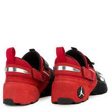 Кроссовки мужские JORDAN Trunner LX OG Black/Red Черно-Красные, фото 3