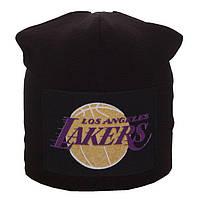 Шапка с флисовой подкладкой LA Lakers, фото 1