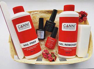 Стартовый набор CANNI для покрытия гель лаком