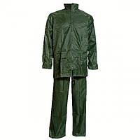 Дождевик ПВХ костюм (зеленый)