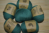 Gazzal Organic Baby Cotton- 427 лазурный