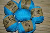Gazzal Organic Baby Cotton- 424 бирюзовый