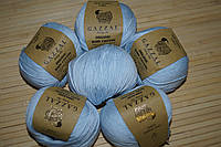 Gazzal Organic Baby Cotton- 417 светло голубой