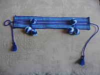 Налобник для девочки синий | Начільник для дівчинки синій, фото 1