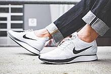 Мужские кроссовки Nike Air Zoom Mariah Flyknit Racer Pure Platinum/White, Найк Аир Зум, фото 3