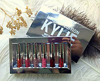 Набор жидких матовых помад 6 штук Kylie Holiday Edition (реплика)