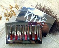Kylie Holiday Edition Silver. Жидкие матовые помады