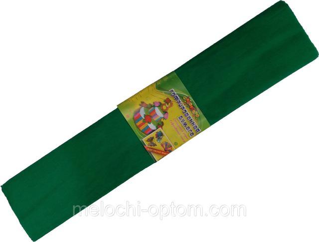 Бумага креповая МУЛЬТЯШКИ светло-зеленая (500х2000mm) для творчества