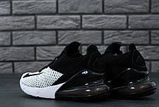 Мужские кроссовки Nike Air Max 270 Black/White, Найк Аир Макс 270, фото 2