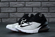 Мужские кроссовки Nike Air Max 270 Black/White, Найк Аир Макс 270, фото 3