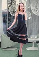 XS, S, M, L / Молодежная женская юбка Milla, черный