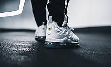 Мужские кроссовки Nike Air VaporMax Plus Pure Platinum 924453-102, Найк Аир Вапор Макс, фото 2