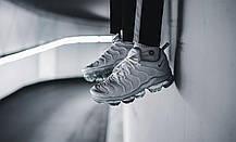 Мужские кроссовки Nike Air VaporMax Plus Pure Platinum 924453-102, Найк Аир Вапор Макс, фото 3