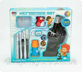 Мікроскоп дитячий з підсвічуванням і калейдоскопом 3104A