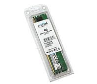 Память 4Gb DDR4, 2400 MHz, Crucial, 17-17-17, 1.2V (CT4G4DFS824A)