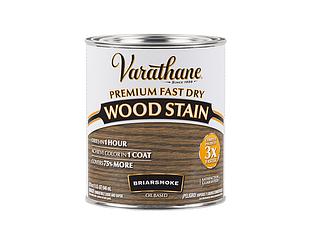 Морилка масляная VARATHANE FAST DRY для древесины коричнево-серая (Briarsmoke) 0,946л