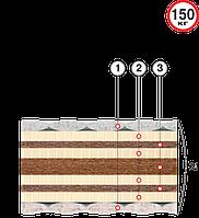 Матрас ортопедический Велам Пармезан 80x190 см (47776)