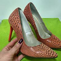 Туфли женские красные, туфли на шпильке, туфли опт и розница