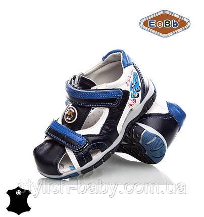 Детская летняя обувь оптом. Детские кожаные босоножки бренда EeBb для мальчиков (рр. с 26 по 31), фото 2