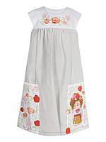 Платье детское Gapchinska лен длинное