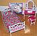 """Мебель """"Gloria"""" 9314  для кукол  спальни, в кор. 32*17*7см, фото 2"""