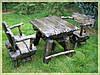 Садовые столы, столы для пикника из дерева на заказ Киев, деревянная мебель для дачи