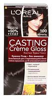 Краска для волос L'OREAL Casting 100 Чёрная ваниль