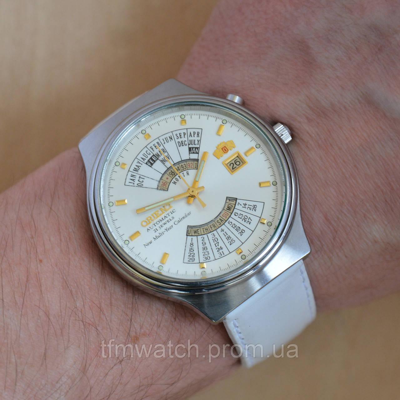 e06f0ed7 Orient multi-year calendar автоподзавод - Магазин старинных, винтажных и  антикварных часов TFMwatch в