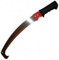 Садовая ножовка с крюком, резиновая накладка на ручке 350 мм Technics., фото 1