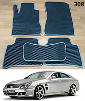 Коврики на Mercedes CLS-Class W219 '04-10. Автоковрики EVA