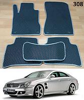Коврики на Mercedes CLS-Class W219 '04-10. Автоковрики EVA, фото 1