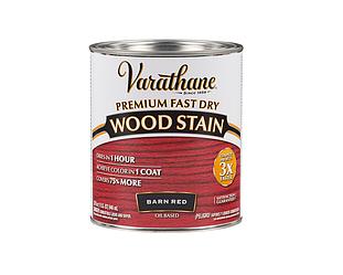 Морилка масляная VARATHANE FAST DRY для древесины красная (Barn Red) 0,946л