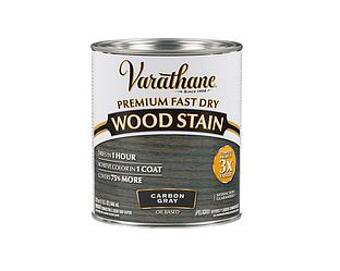 Морилка масляная VARATHANE FAST DRY для древесины тёмно-серая (Carbon Gray) 0,946л
