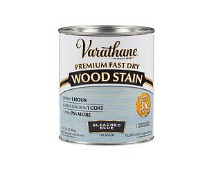 Морилка масляная VARATHANE FAST DRY для древесины голубая (Bleached Blue) 0,946л