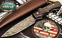 Нож охотничий Firestorm Damascus Tactical Hunter (Дамаск, Микарта)
