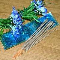 """""""Опиум"""" натуральные пыльцевые благовония из Вриндавана, упаковка (10 палочек), Индия"""