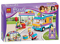 """Конструктор Bela Friends 10608 """"Служба доставки подарков"""" 188 деталей. Аналог Lego 41310"""