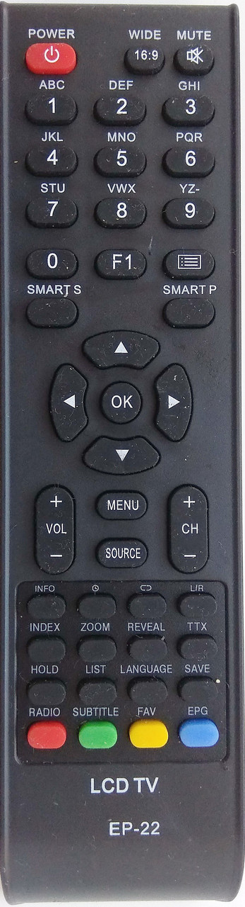 Пульт к телевизору DEX RC-E23