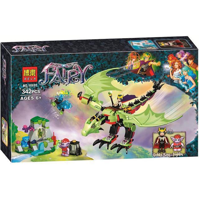 """Конструктор Bela 10695 Fairy """"Дракон Короля Гоблінів"""", 342 деталей. ( Аналог Лего 41183 )"""