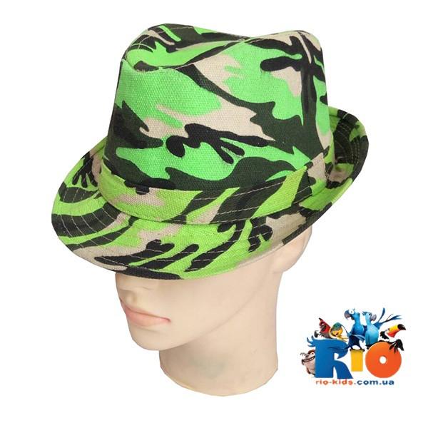 Детская летняя шляпка, для мальчика р-р 54 см (5 ед. в упаковке)