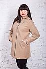 Женское пальто с капюшоном БАТАЛ от производителя модель весна 2018 - (рр-60), фото 6
