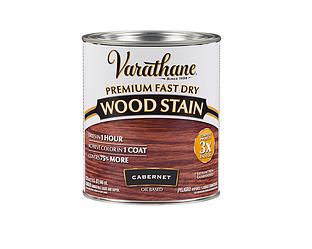 Морилка масляная VARATHANE FAST DRY для древесины каберне (Cabernet) 0,946л