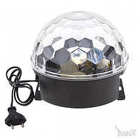 Динамический световой LED прибор - полусфера