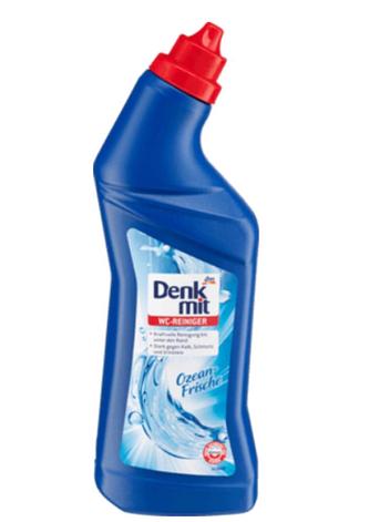 Чистящее средство Denk mit Ozean-Frische для туалета антибактериальное 1 л, фото 2