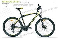 "Велосипед Fort Status DD 27,5"" Рама 19"", фото 1"