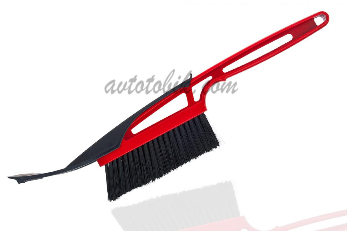 Зимняя щётка- скребок для автомобиля BI-PLAST SMALL 41см