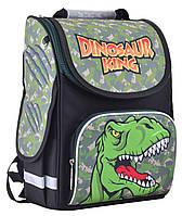 Рюкзак школьный каркасный ортопедический  PG-11 Dinosaur, 31*26*14, SMART, фото 1