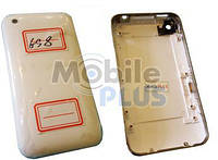 Housing cover iPhone 3GS 8GB White с металлической рамкой high copy