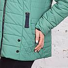 Весенняя женская куртка батальных размеров модель 2018 - (кт-267), фото 4